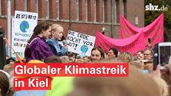 Globaler Klimastreik: 13.000 Aktivisten setzen in Kiel ein Zeichen für Klimaschutz
