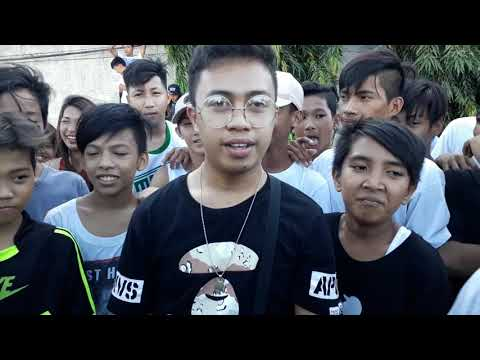 Laglagan Rap Battle League - Cleezy Hanz Vs One Shot ( PULONG WALANG DIYOS )