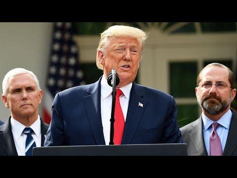 Donald Trump déclare l'état d'urgence et débloque 50 milliards de dollars