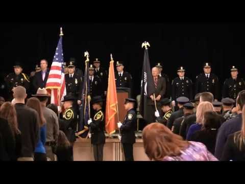 Police Academy Graduation - Class 02-14
