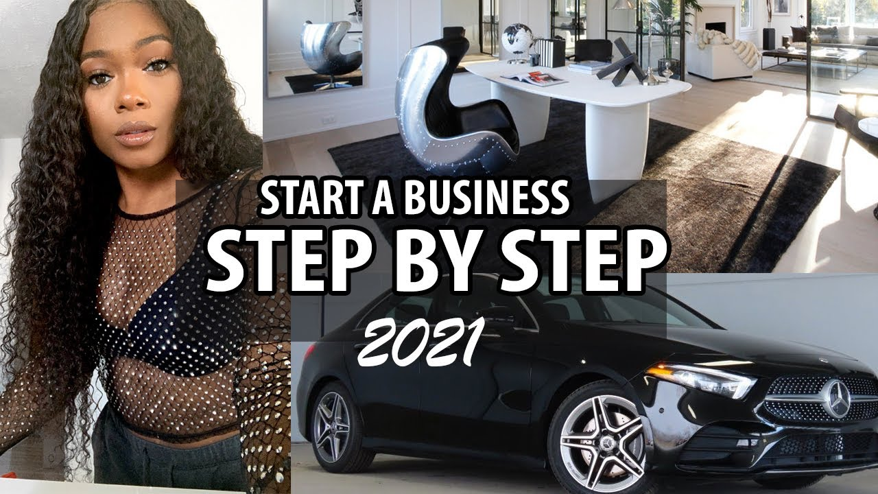 How to Start a Business Step By Step in 2021 | Trishonna