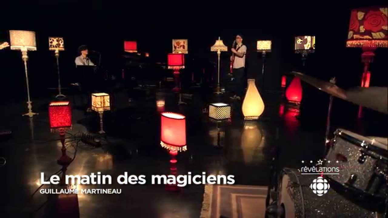video: Guillaume Martineau « Le matin des magiciens »