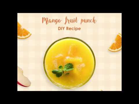 Tasty Lab: Mango Fruit Punch