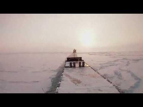 Dep Tornio Ice Timelapse ships
