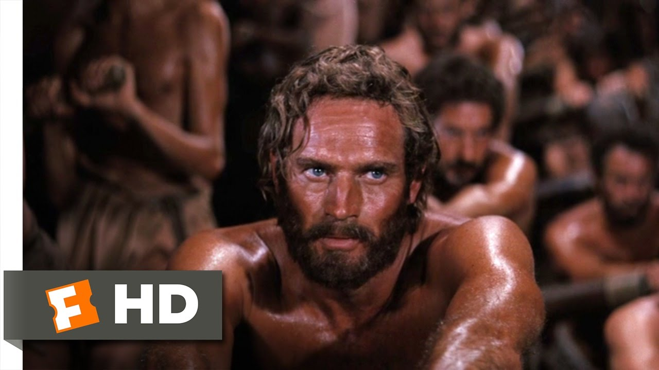 Ben Hur 910 Movie Clip Row Well And Live 1959 Hd Youtube