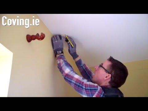 How To Install Coving