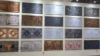 Our Faux Tin Ceiling Tiles Collection - Decorative Solutions for Every Ceiling - Talissa Decor