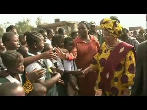 Liberia's president barred from office   7 Jul 092