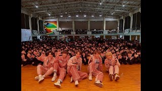 CUBERS - 西武台高校 予餞会(3年生を送る会)サプライズ出演 [密着動画]