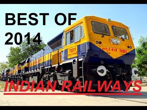 BEST MOMENTS OF INDIAN RAILWAYS 2014 !  OFFLINKS SPECIAL LINKS