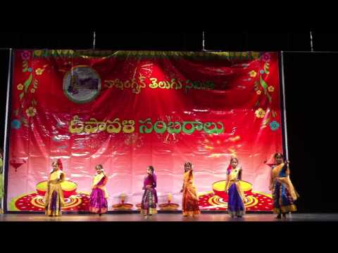 Ronitha's Dance performance in WATs Diwali Celebrations 2012