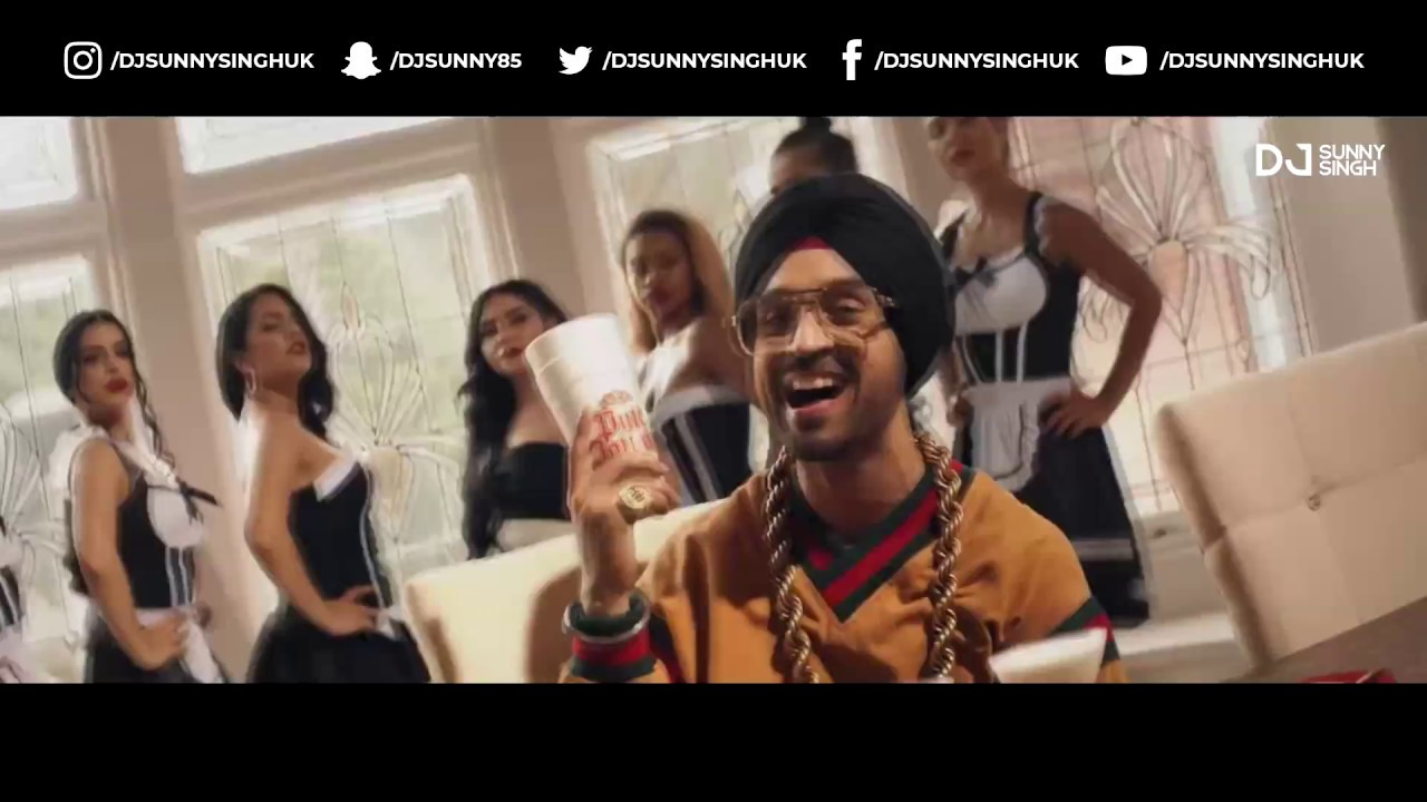 Putt Jatt Da (Remix) | DJSunnySinghUK | Diljit Dosanjh | Ikka | Kaater | Latest Punjabi Songs 2018