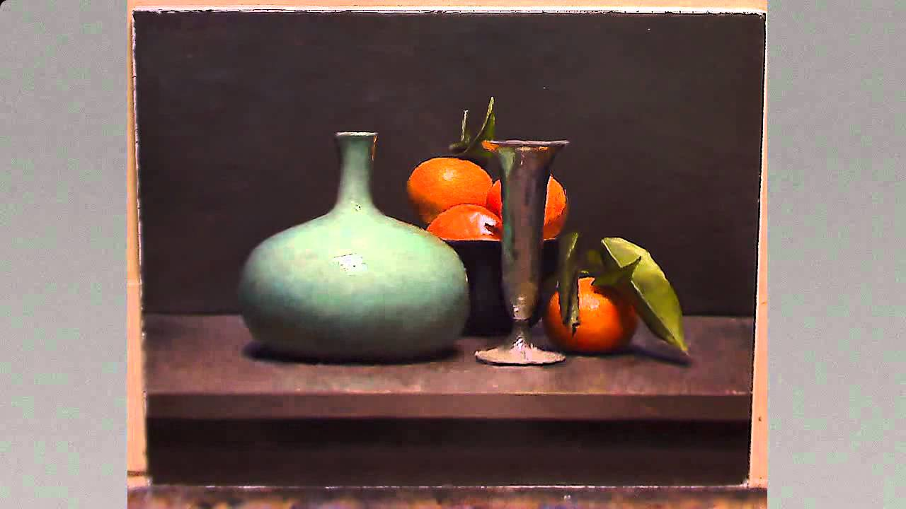How To Paint A Still Life Oil Painting Demo Youtube