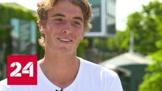 Теннис. Главной звездой турнира в Торонто стал 20-летний грек с русскими корнями - Россия 24