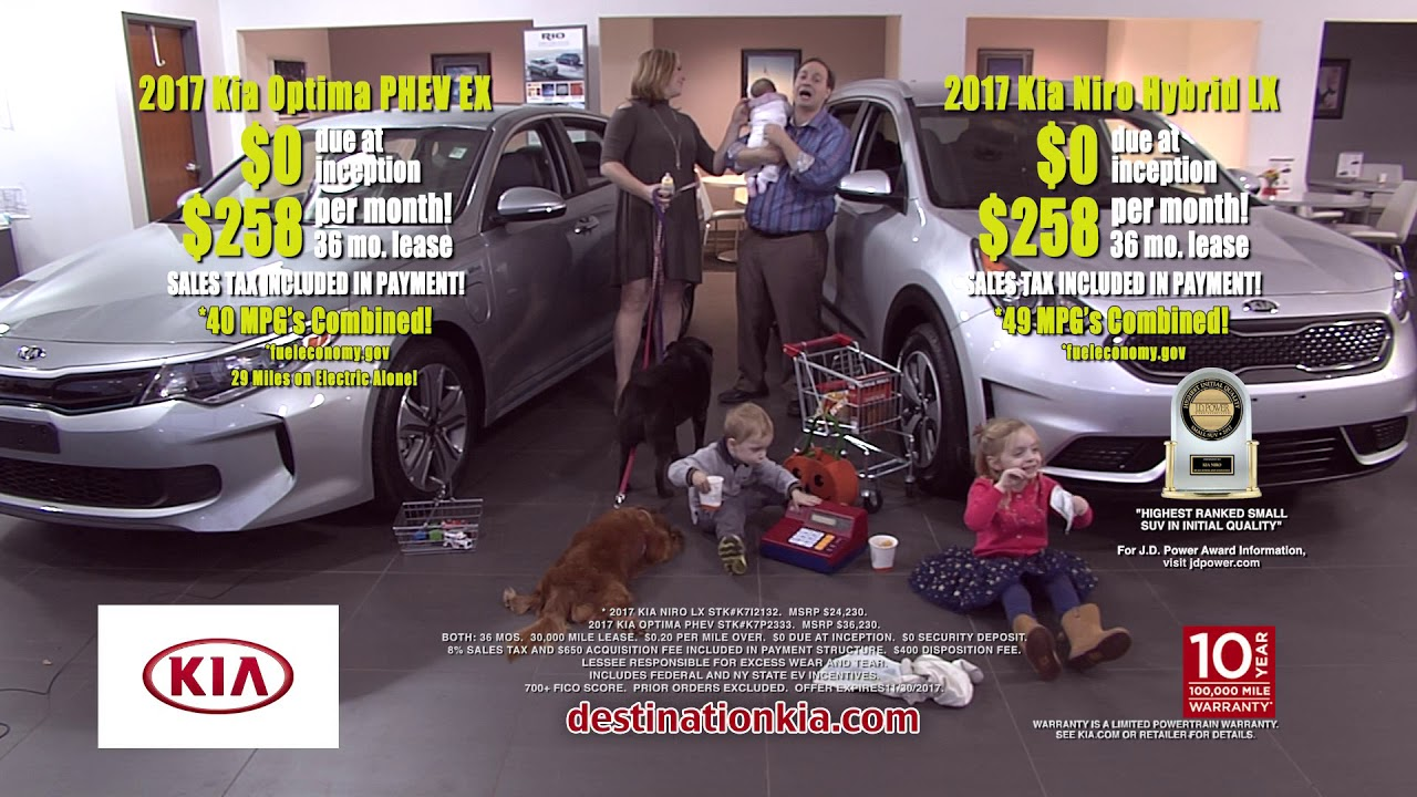 0 Down Kia Hybrid Lease Special Offers Deals Niro Or Optima 258 Mo Destination 12206