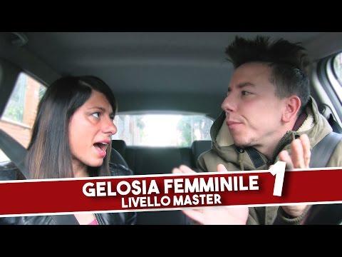 GELOSIA FEMMINILE: LIVELLO MASTER