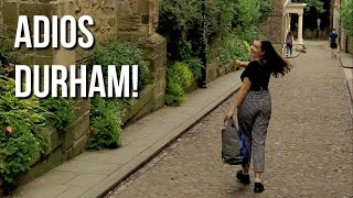 (Finally) Leaving Durham - Packing up for the big wide world!