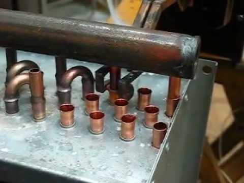 Замена калачей на теплообменнике охладитель теплообменник масляный газель бизнес cummins isf 2.8