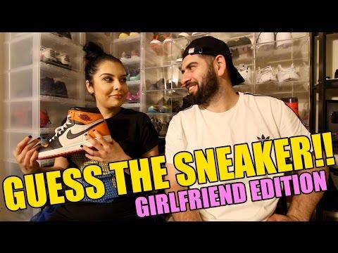 Girlfriend Sneaker Guessing Game!!