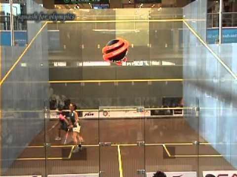 Nicol David  vs Rachael Grinham Game2.wmv