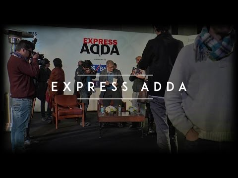 Express Adda - Amartya Sen on his life in Calcutta