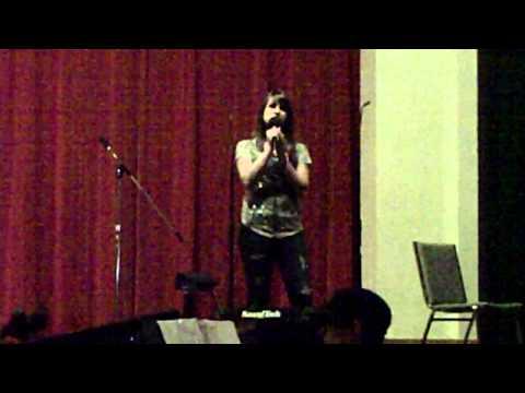 Madison Beaty sings Jar of Hearts by Christina Perri