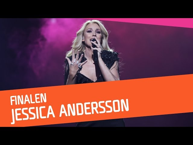FINAL: Jessica Andersson – Party Voice | Melodifestivalen 2018