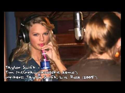 Tim McGraw (acoustic demo) - Taylor Swift