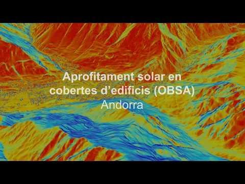 Aprofitament solar en cobertes d'edificis (OBSA) - Andorra