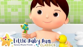 No No I Dont Want A Bath Song | Nursery Rhyme & Kids Song - ABCs and 123s | Little Baby Bum