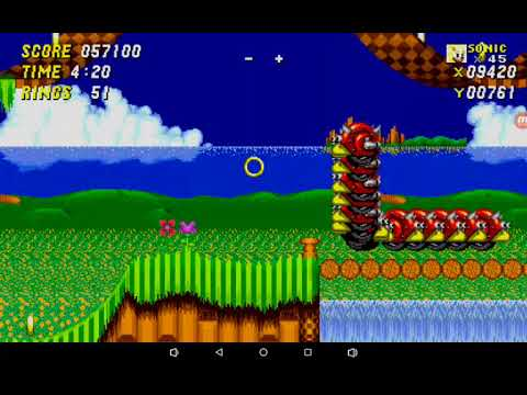 Sonic 2 to trying to get Sonic Mania: Android off of GameJolt to drawing  classic sonic!