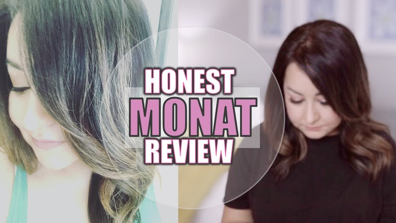 Honest Monat Review 2020 2 Months Of Use Monat For Thick Hair Prolonged Detox Period Youtube