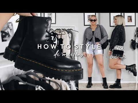 HOW TO STYLE DR. MARTENS FOR SPRING + SUMMER 2019! OUTFIT IDEAS