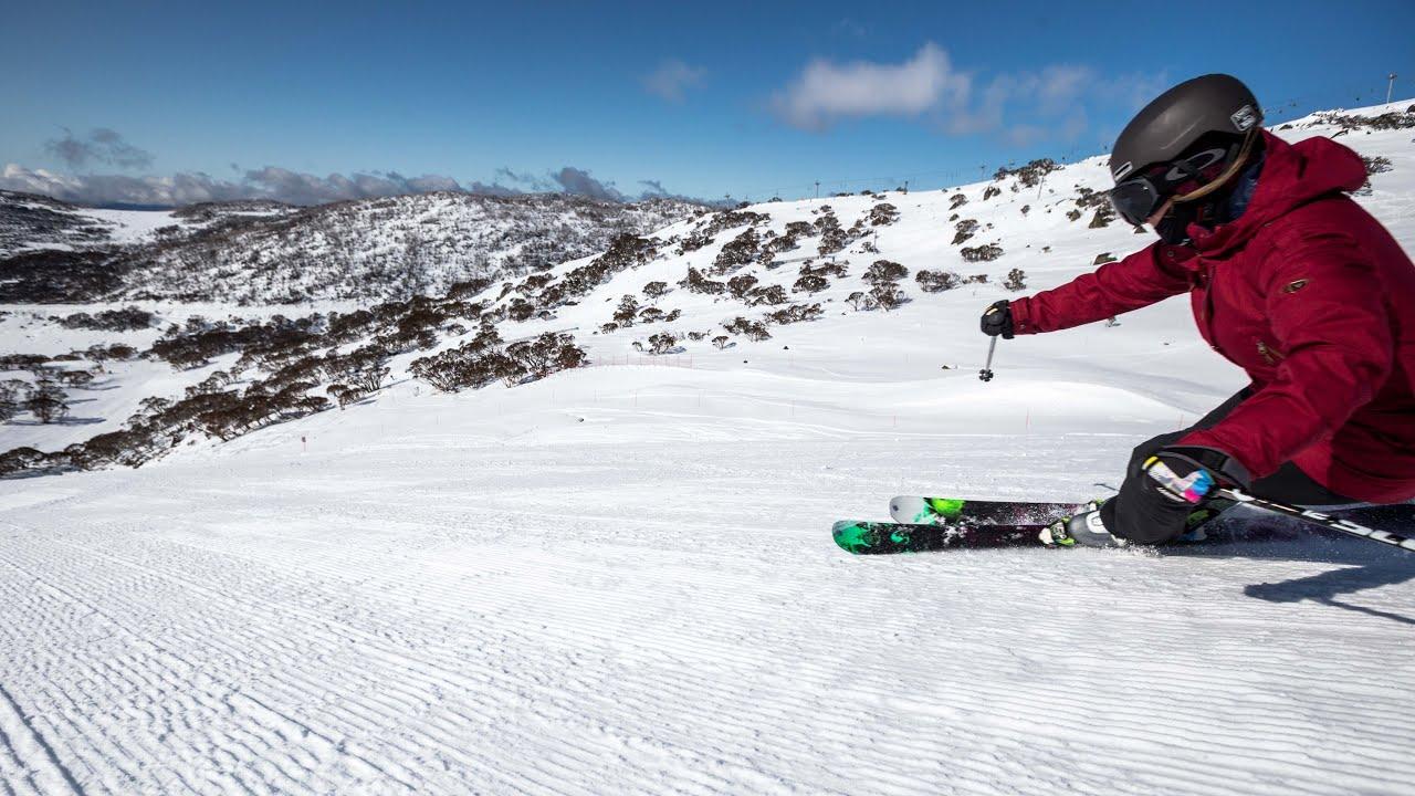 skiing & boarding at perisher ski resort - youtube