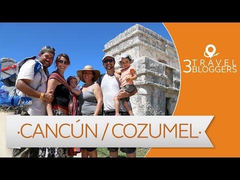 Viaje a Cancún  y Cozumel - 3 Travel Bloggers (JL Pastor, Arturo Bullard y Marcela Mariscal)