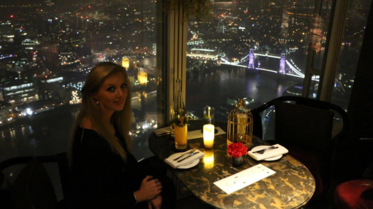 View From The Shard London Gong Bar At Shangri La Hotel