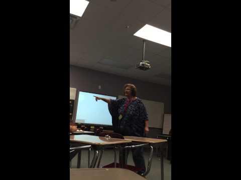 Crazy Substitute Teacher