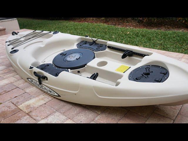 NEW Fishing Kayak [Malibu Stealth-9] Multi-Species Fishing