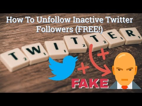 How To Unfollow Inactive Twitter Accounts | Boost Your Twitter Reach [FREE METHOD]