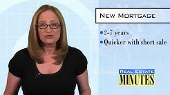 Getting a New Mortgage After Short Sale or Foreclosure