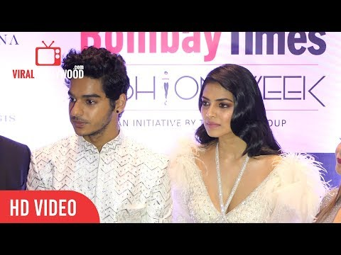 Ishan Khattar Full Interview | Bombay Times Fashion Week 2018