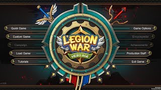 Legion War: Hero Age / Fantasy 4x Strategy / Intro Game / Ep: 01