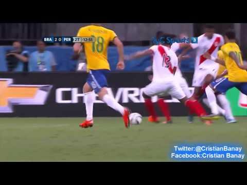 Brasil 3 Peru 0 (Tyc Sports) Eliminatorias a Rusia 2018