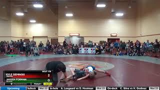 NOV 63-66 Jaxsen Forman Nevada Vs Kyle Sieminski Oregon