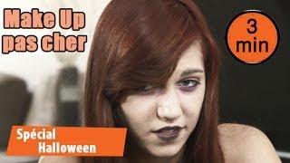 Halloween facile : Maquillage horreur rapide et pas cher !