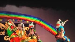 Bharathanatyam Dance  Andela Ravamidi Anand Bazar 2009