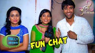 Yuvraj, soumya & suhani's candid chat | suhani si ek ladki