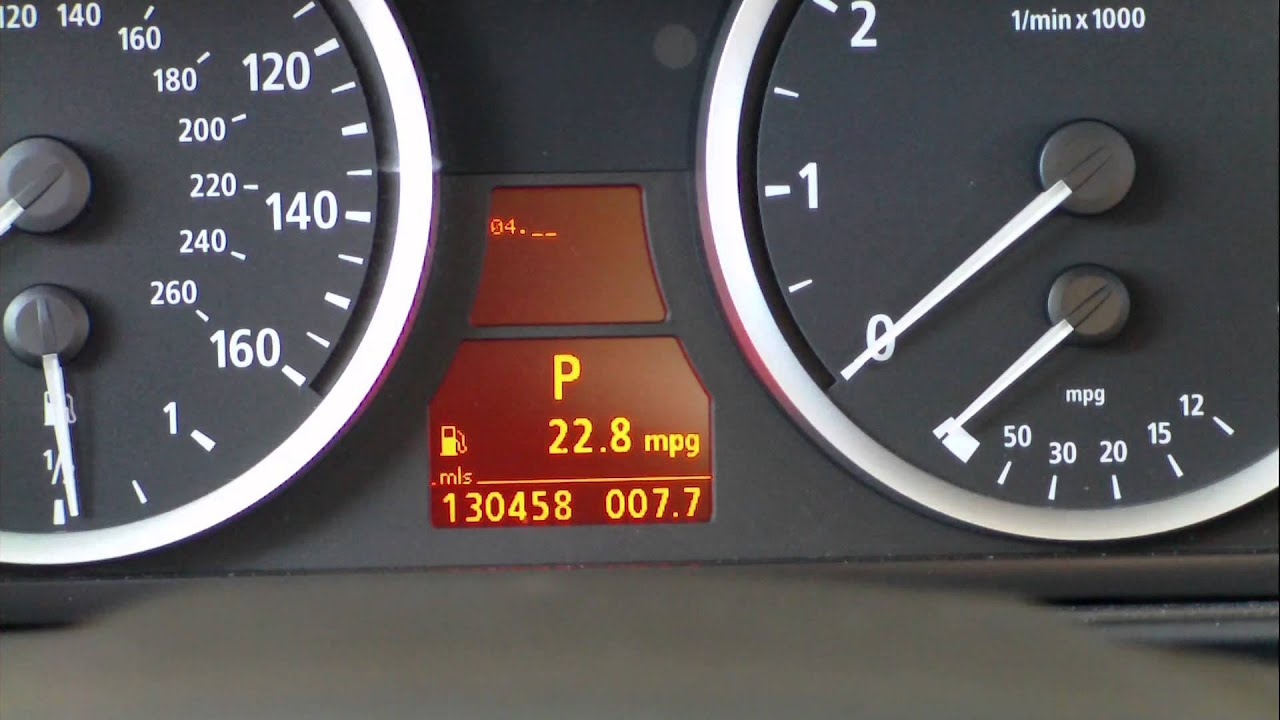 How To Check Engine Coolant Temperature 5 Series E60 From