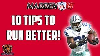 MADDEN 19 TIPS HOW TO RUN THE BALL BETTER | MASTER THE RUN GAME | MADDEN 19 RUNNING TIPS