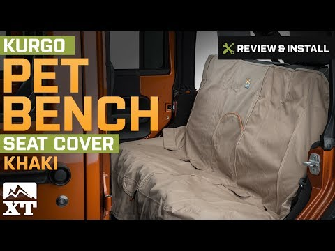 Jeep Wrangler Kurgo Pet Bench Seat Cover (1987-2017 YJ, TJ, JK) Review & Install